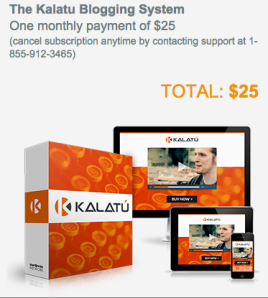 Kalatu Basic Blogging System