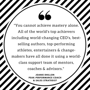"""Quote - """"You cannot achieve mastery alone..."""""""